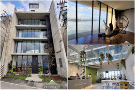 清水模設計+冬山河景第一排!宜蘭最新「八嶋」寶島咖啡廳,走3分鐘能遠眺龜山島