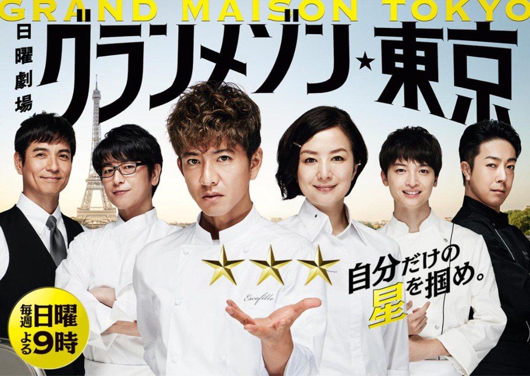 2019年跟木村拓哉共演的《型男主廚三星夢》更是年度話題大作。圖/擷自TBS