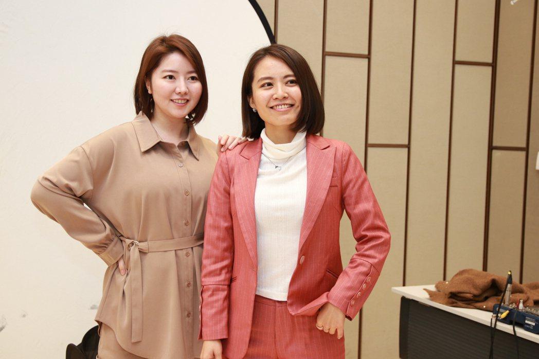 女力學院創辦人(左)Elsa 、(右)S姊,希望凝聚女性力量,讓女性可以兼顧家庭...