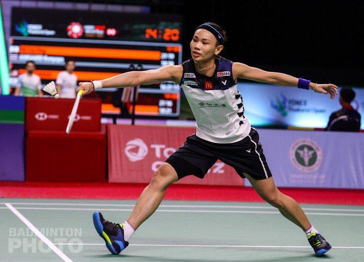 圖/Badminton Photo提供 戴資穎直落2拿下重返國際賽的勝利。