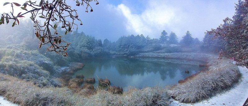 大雪山天池。圖/東勢林區管理處提供