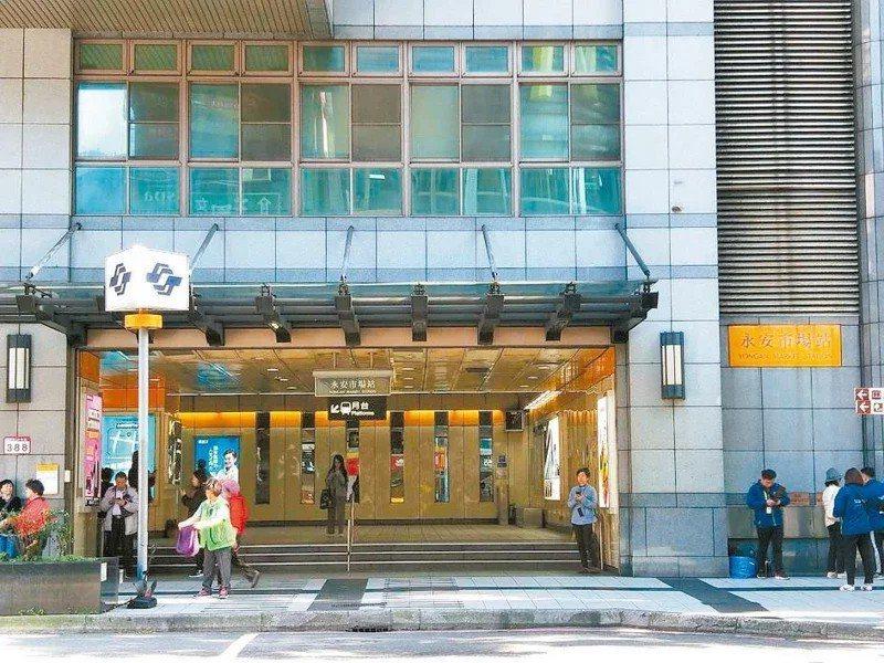 中和區最高價位於中和路、永安市場捷運站一帶。報系資料照