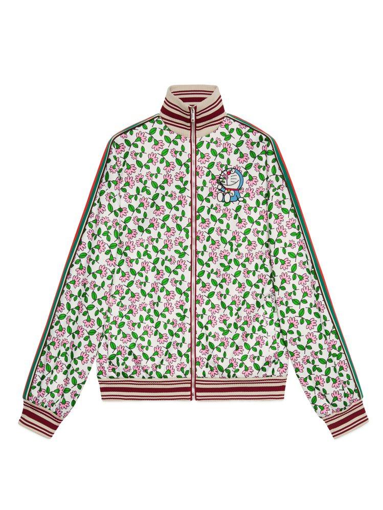 哆啦A夢拉鍊夾克,58,000元。圖/Gucci提供