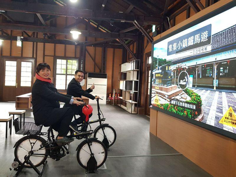 集集鐵道舊倉庫變身遊客中心,歷經2年完成內外整修工程,今日正式啟用。圖/集集鎮公所提供