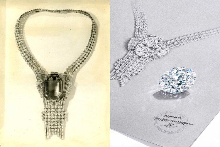 Tiffany今日宣布將以重逾80克拉的稀世橢圓形鑽石,重現1939年高級珠寶系...