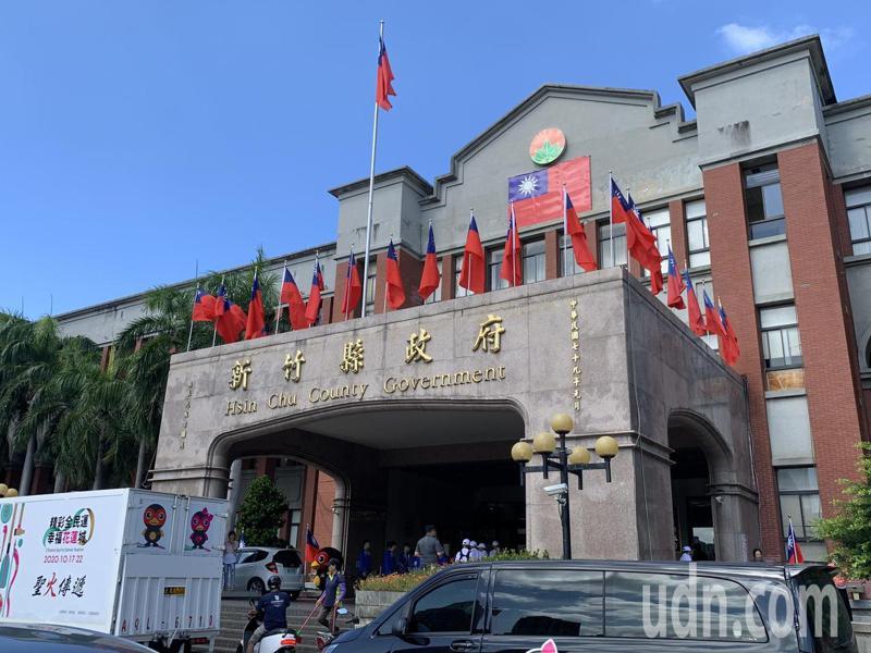 新竹縣政府宣布,即日起停辦室外 500 人以上,室內 100 人以上的集會活動。圖/聯合報系資料照