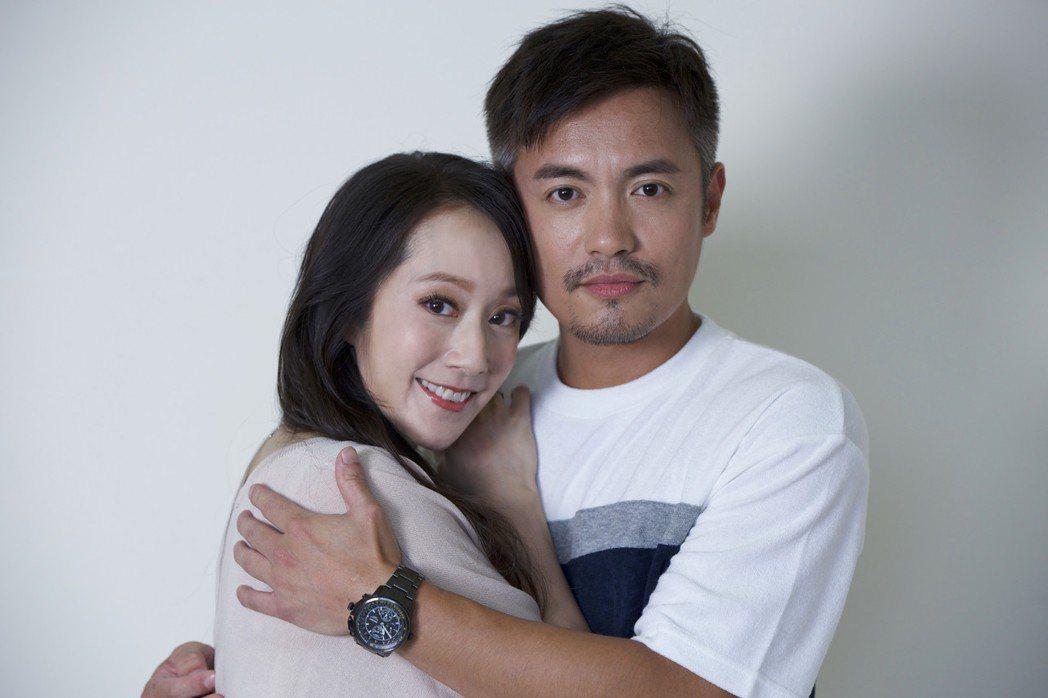 范逸臣、許慧欣在「叱咤風雲」飾演夫妻。圖/創映電影、量能影業提供