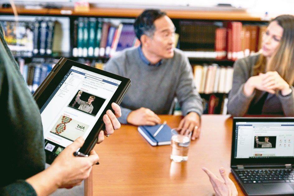 「微軟創新教師培訓家計畫」將提供獲認證教師軟硬體教學載具和資源。台灣微軟/提供