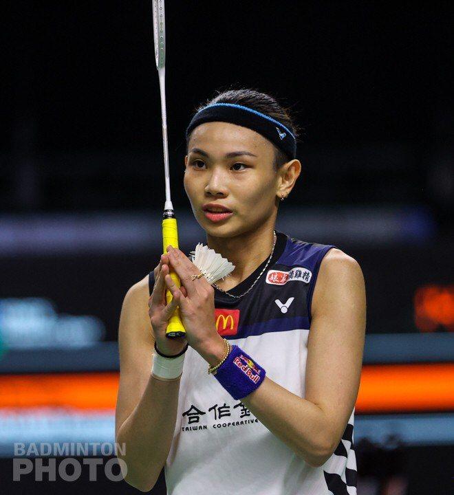 戴資穎直落2拿下重返國際賽的勝利。圖/Badminton Photo提供