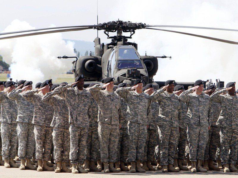 駐德美軍目前約有35000人左右。美聯社