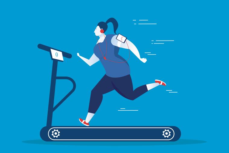新的研究發現,其實只要每天運動11分鐘帶給身體的益處也大於久坐的人! 圖/ing...