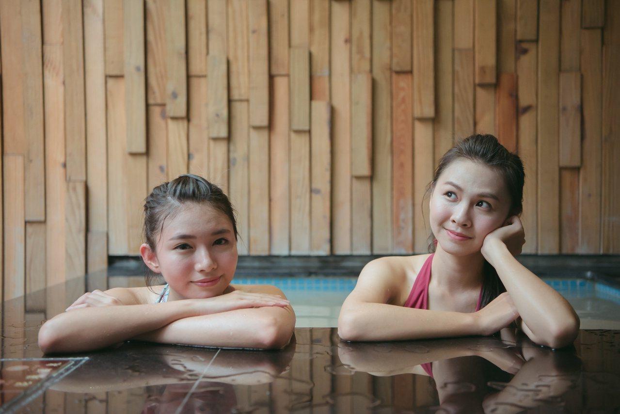 中北部冷颼颼,台南白河關子嶺溫泉業者邀請遊客南下泡湯避寒。 圖/台南市觀旅局提供
