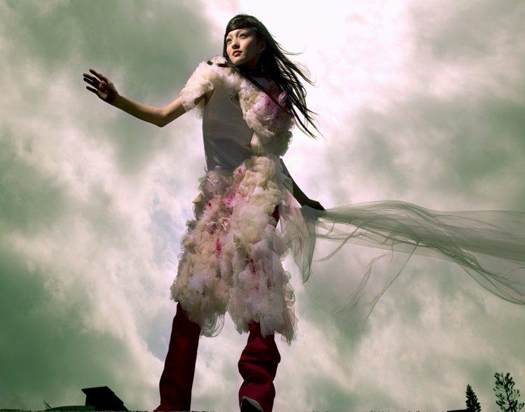 張韶涵2004年「歐若拉」專輯造型。 圖/福茂唱片