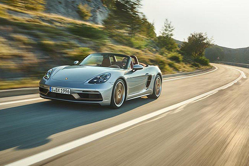 保時捷(Porsche)Boxster 25週年特別版、全球限量1,250台,台...