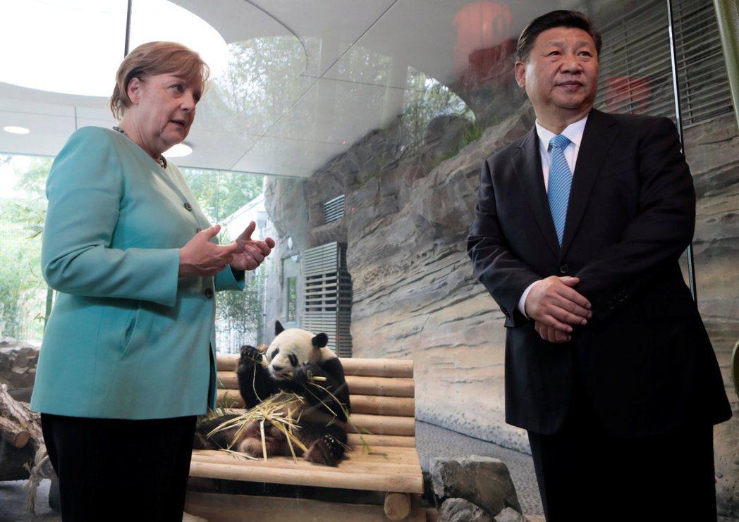 中國這名重要客人對於德國來説舉足輕重。基民盟黨領袖候選人梅茨形容這種外交手段為純...