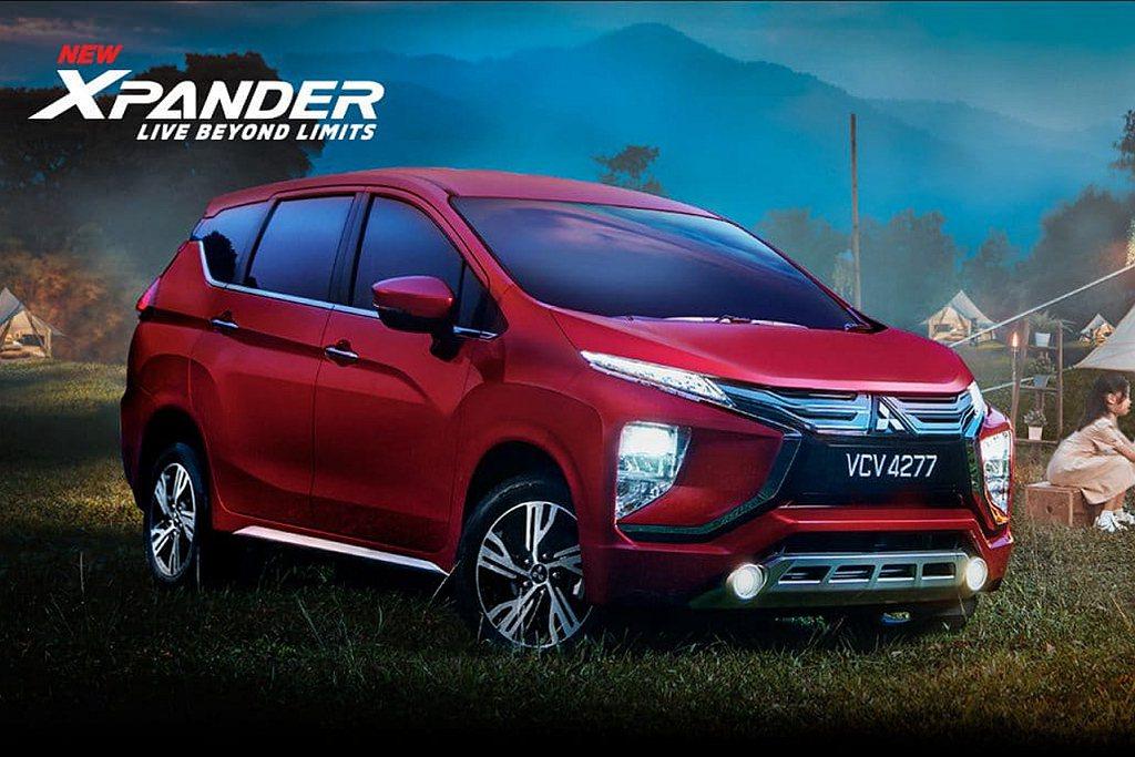 東協市場超熱賣的跨界MPV三菱Xpander,正式在馬來西亞組裝銷售。 圖/Mi...