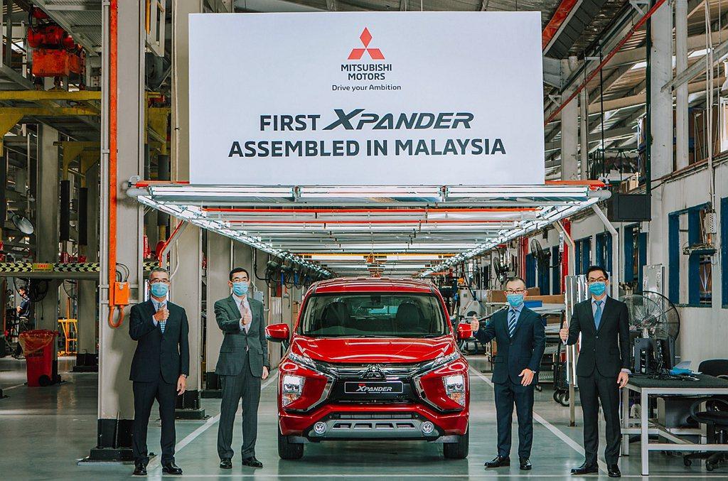 三菱Xpander問世短短2年就累積超過25萬輛規模,為滿足東協地區的強烈需求,...