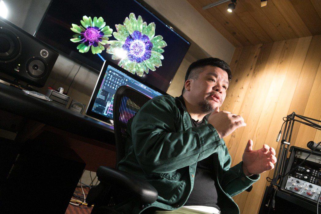 迪拉對嘻哈音樂的展演形式有許多想法。陳立凱/攝影