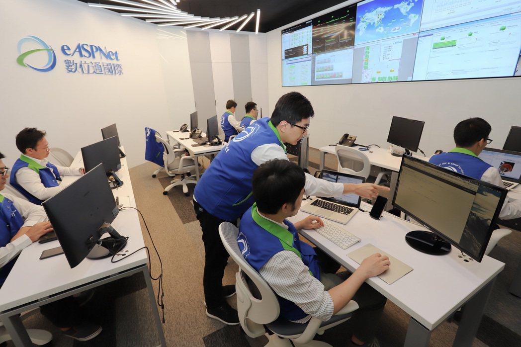 數位通國際整合機房管理及雲端方案,成功進軍海外市場。 數位通國際/提供