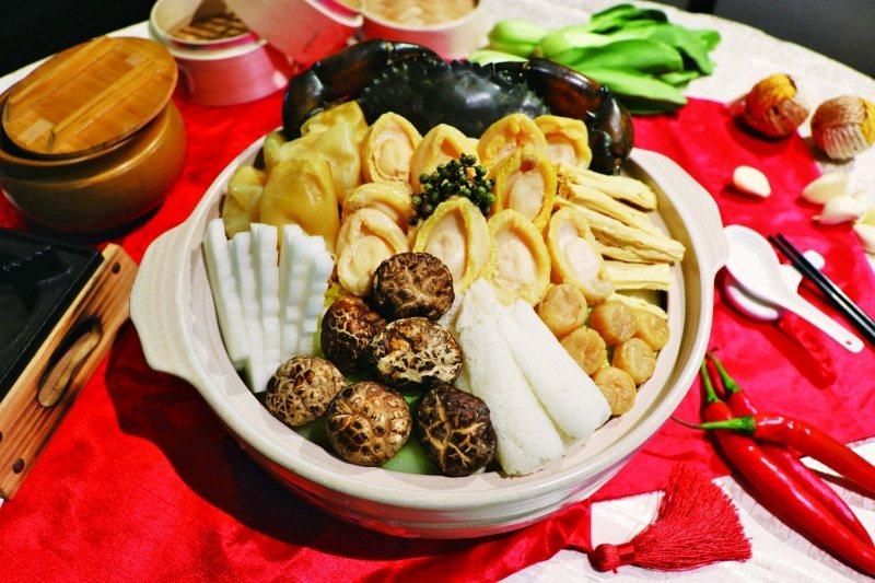 奇岩富貴盆菜。 業者/提供