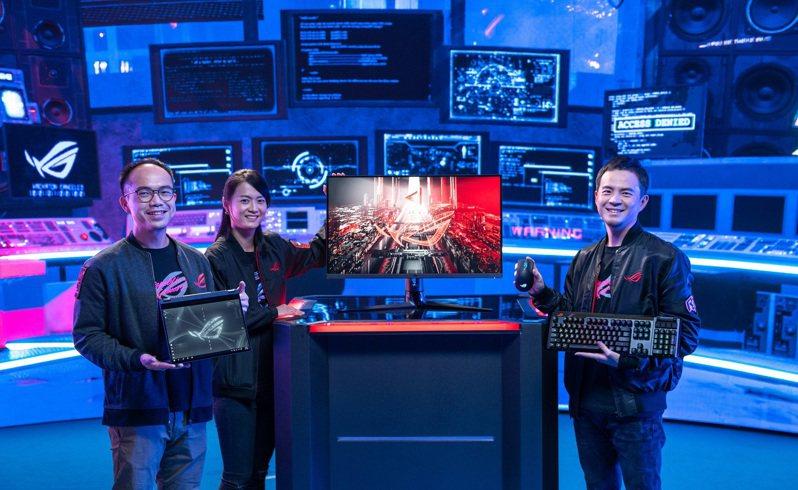 CES 2021 ROG For Those Who Dare 線上發表會今(13)日舉行,帶來一系列令全球玩家振奮不已的電競戰備以及全新互動式體驗。 圖/華碩提供