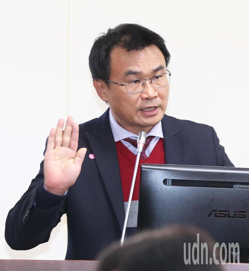 農委會主委陳吉仲。報系資料照/記者潘俊宏攝影