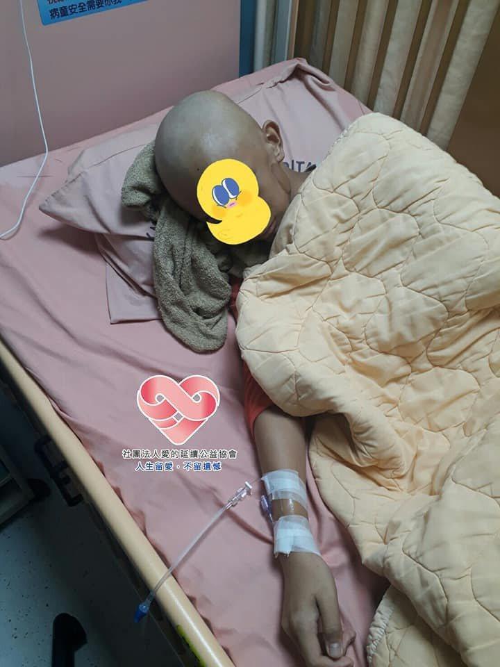 小宇本月20日將進行手術。圖/社團法人愛的延續公益協會提供