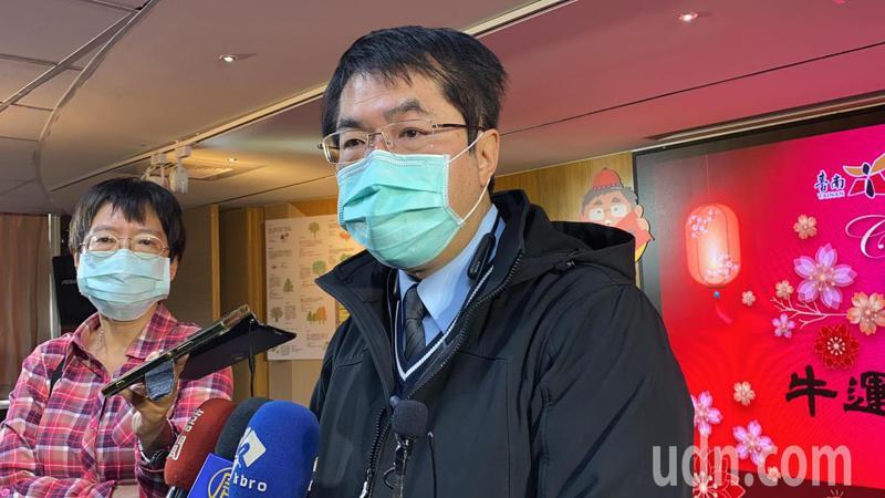 台南市長黃偉哲擔心,台商返鄉潮是否有辦法將防疫措施做到位,居家檢疫14天夠不夠,是否強制7天自主健康管理,這都是嚴肅課題。記者鄭維真/攝影