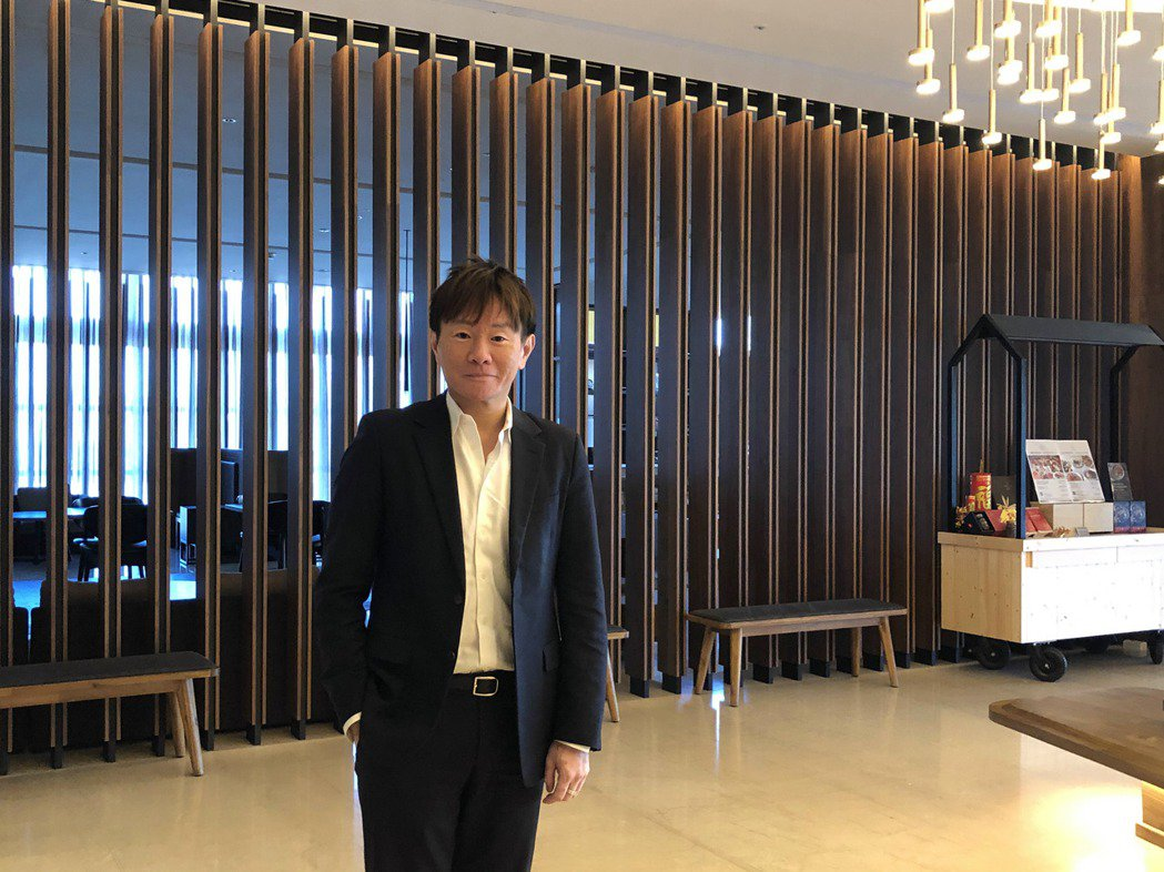 昇貿集團總經理李弘偉。記者尹慧中攝影