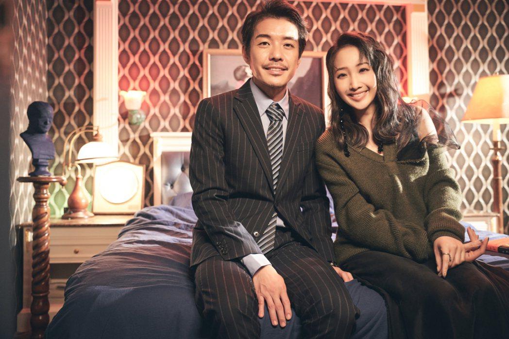 朱俐靜(右)透露陳如山私下相當溫柔。圖/福韻工作室提供