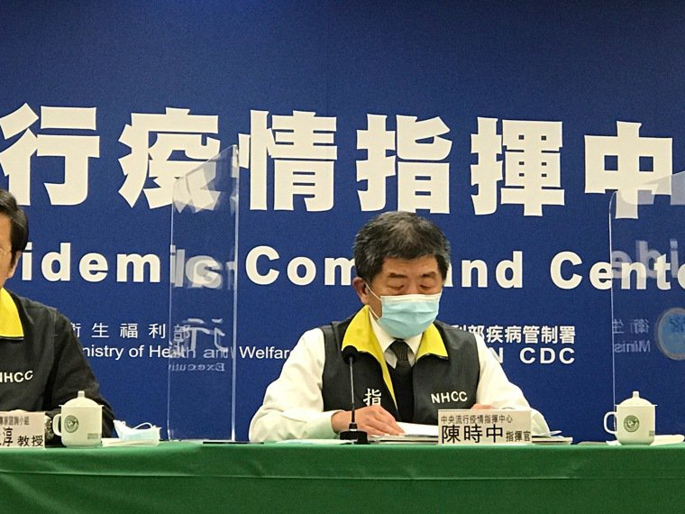 陳時中嘆了一口氣說,「坦白講我無言以對啦」記者黃惠群/攝影
