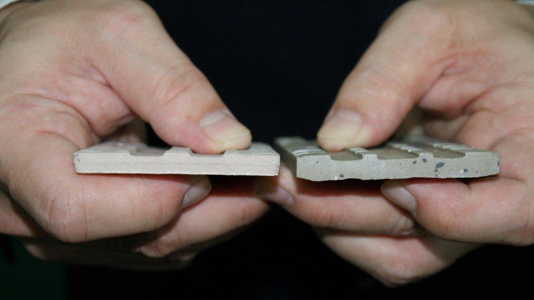 產品示意圖。圖/冠軍建材股份有限公司提供