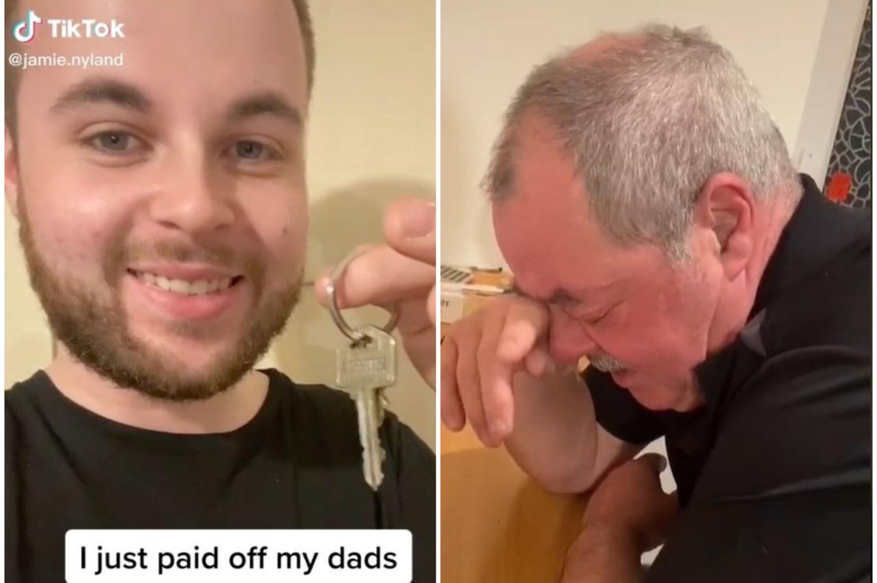 影/抖音網紅替父還清房貸 父親哭讚「世界最棒兒子」|房屋貸款