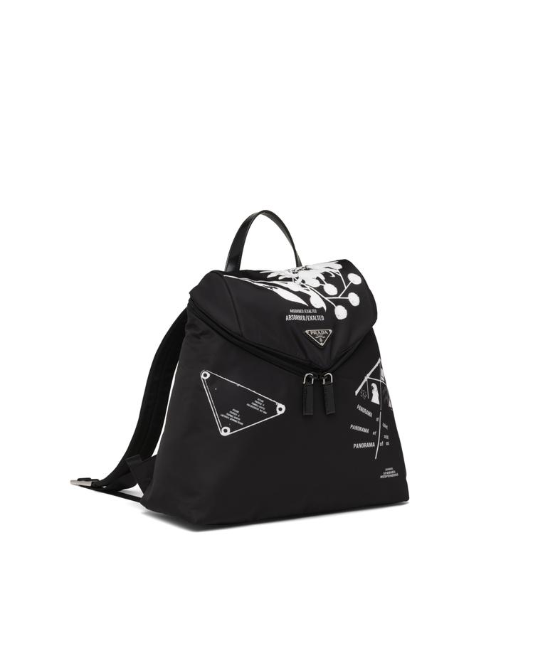 Symbols印花尼龍後背包,51,000元。圖/PRADA提供