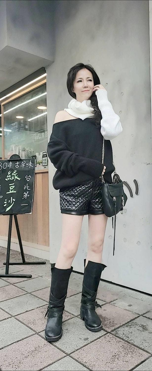 陳仙梅已是2個兒子的媽,身材依然窈窕。圖/摘自臉書