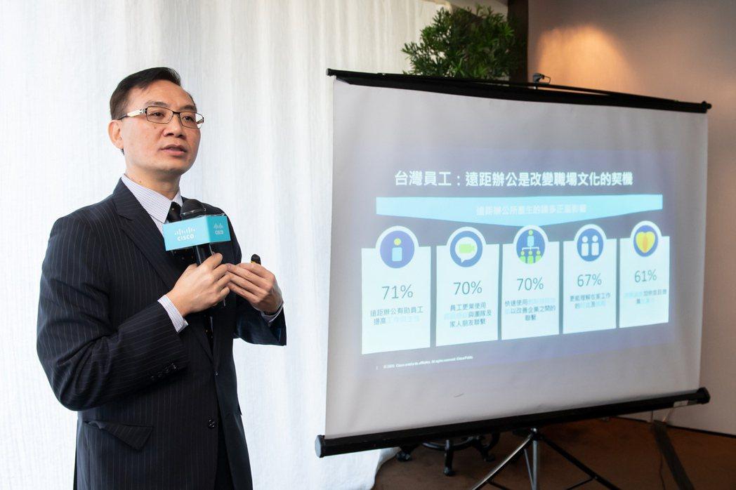 思科今日發布未來工作力研究報告,顯示7成台灣員工希望將來能繼續維持疫情期間所享有...