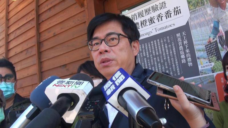 陳其邁表態肯定,仍留不住高雄市警察局長劉柏良。記者王昭月/攝影