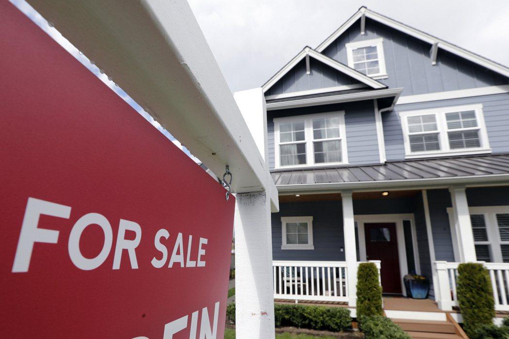 美國上周房價漲幅趨緩。美聯社
