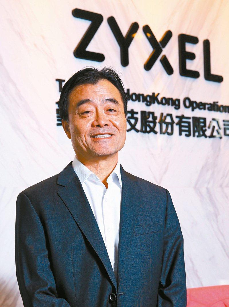 合勤控執行長楊國榮(本報系資料庫)