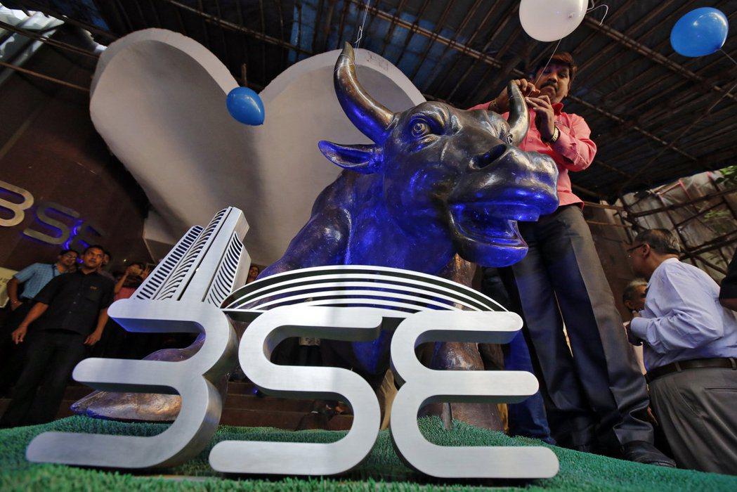 印度股市今年以來七個交易日便創新高五次。 (路透)