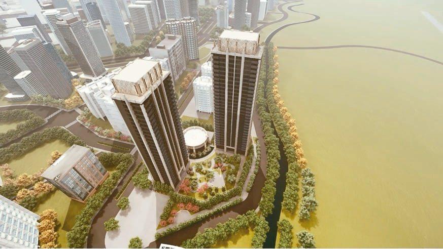 HLA繼台北文華東方酒店,新作國際地標豪邸推手,僅限中悅客戶。業者/提供