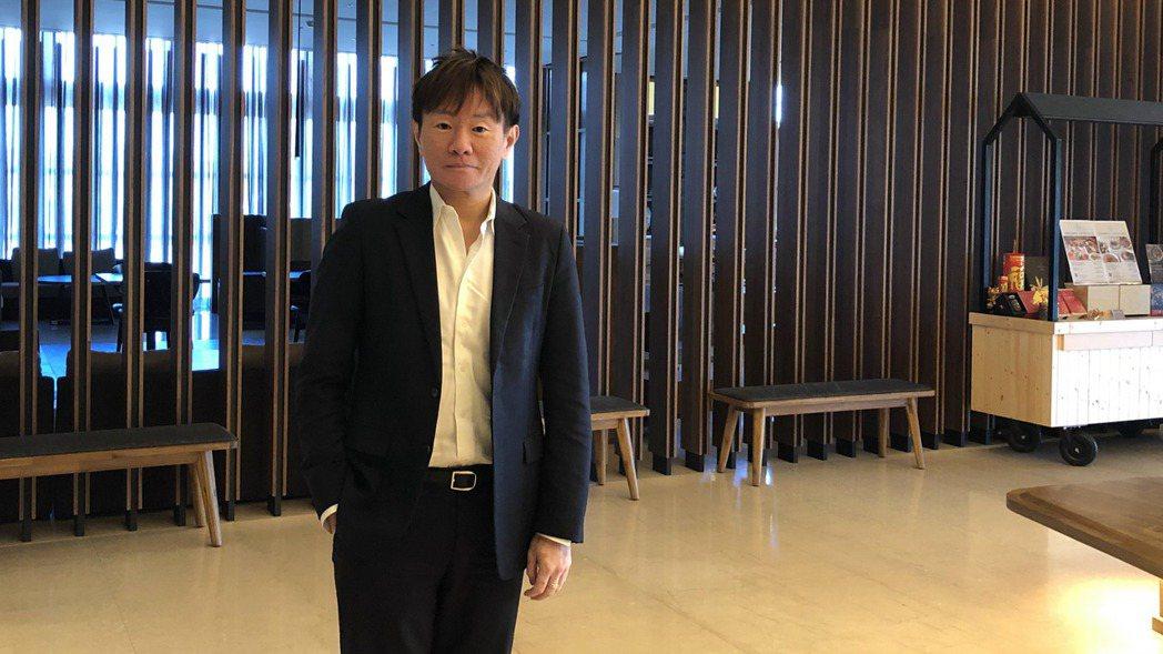 昇貿集團總經理李弘偉。記者尹慧中/攝影