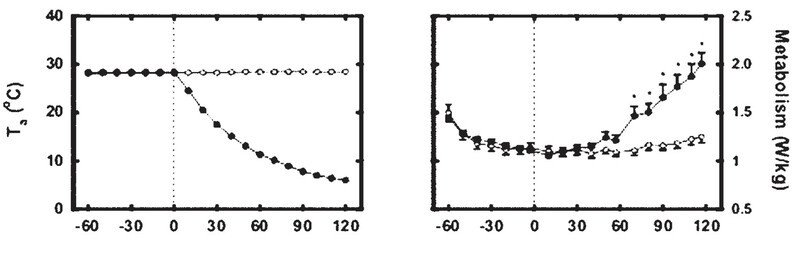 持續冷切的低體溫,使新陳代謝的濃稠增加了60%,你說你房間內的的溫度,重不重要呢...