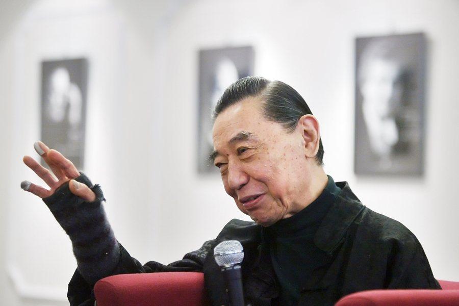 傅聰舉行蕭邦鋼琴演奏會,攝於2010年。 圖/聯合報系資料照