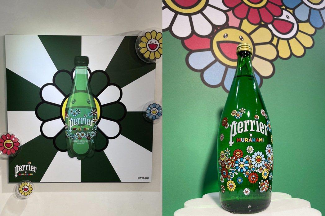 「沛綠雅╳村上隆」推出聯名商品,並於北市中山區打造期間限定店。圖/劉小川攝影