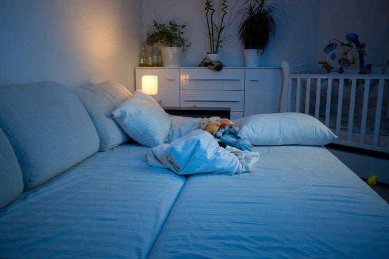 有人網上購買小夜燈但覺得夜燈亮度太低,評論遭賣家怒嗆可以直接開燈,引發熱議。示意圖/ingimage