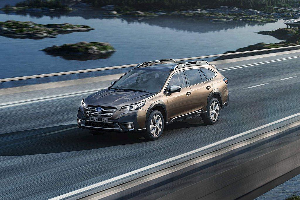 大改款Subaru Outback優先導入「EyeSight 4.0智能駕駛安全...