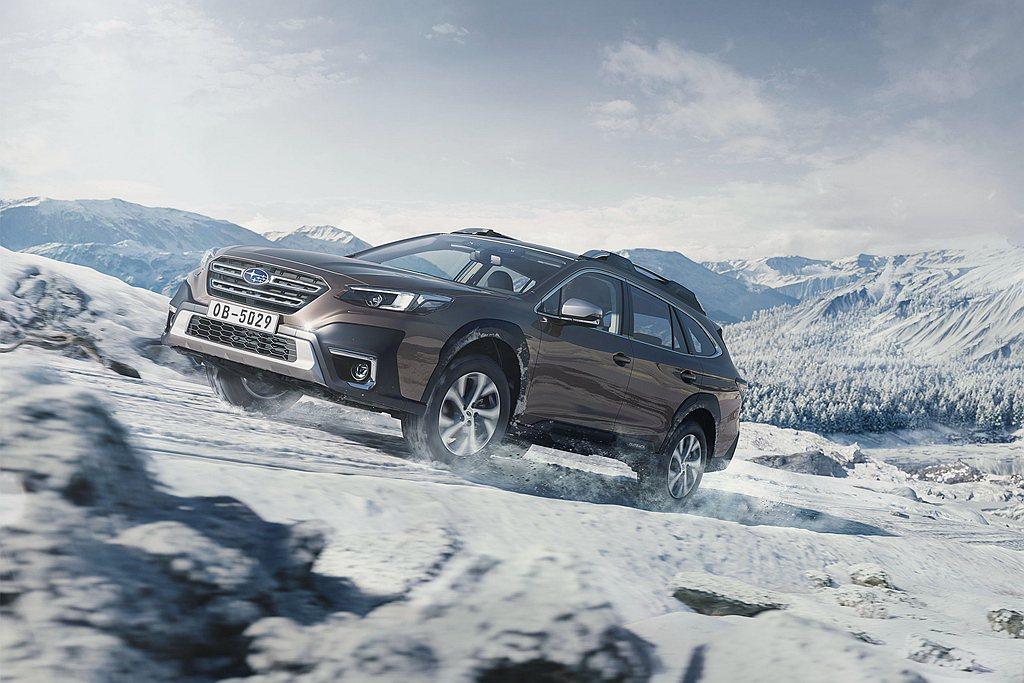 大改款Subaru Outback搭配全新調教的Subaru BOXER 2.5...