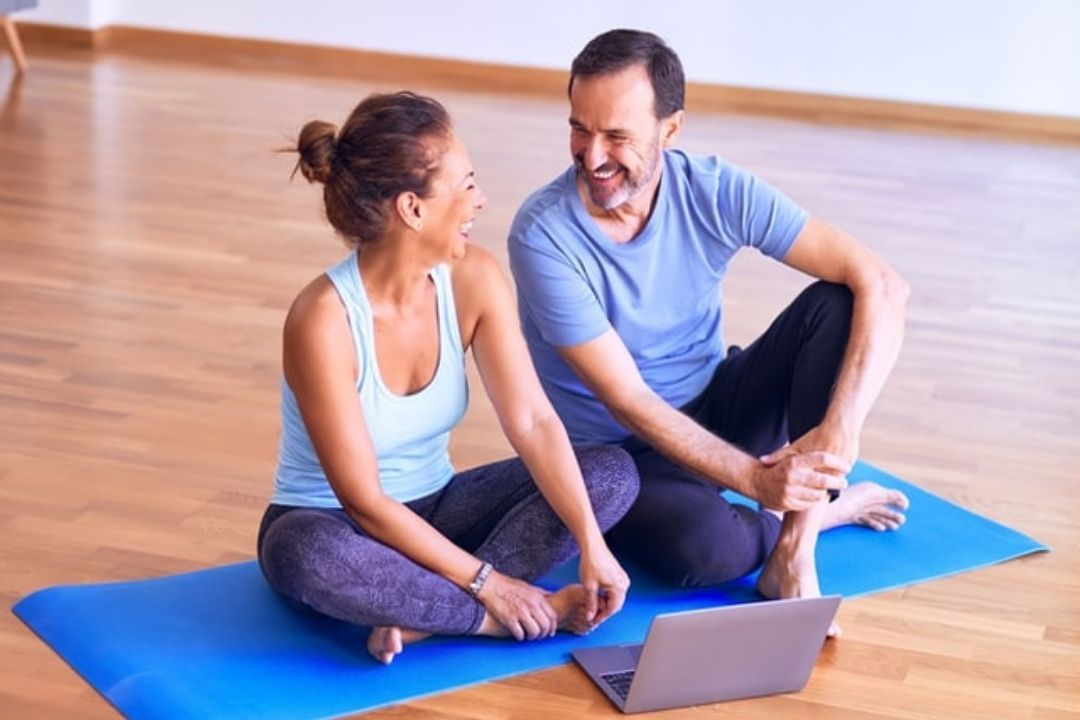 許多醫師都會建議,在更年期時最好還是要能夠持續運動,才能一直維持身體的健康。 圖...