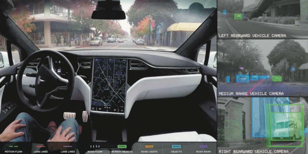 自動駕駛能力將是未來電動車兵家必爭之地。(圖/取自官網)